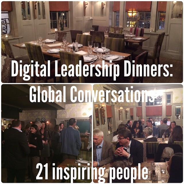 Digital leadership dinner