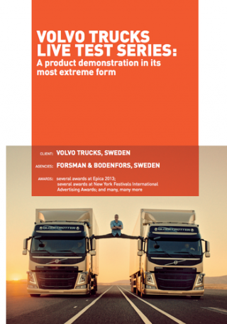 Digital marketing case study Volvo truck epic split
