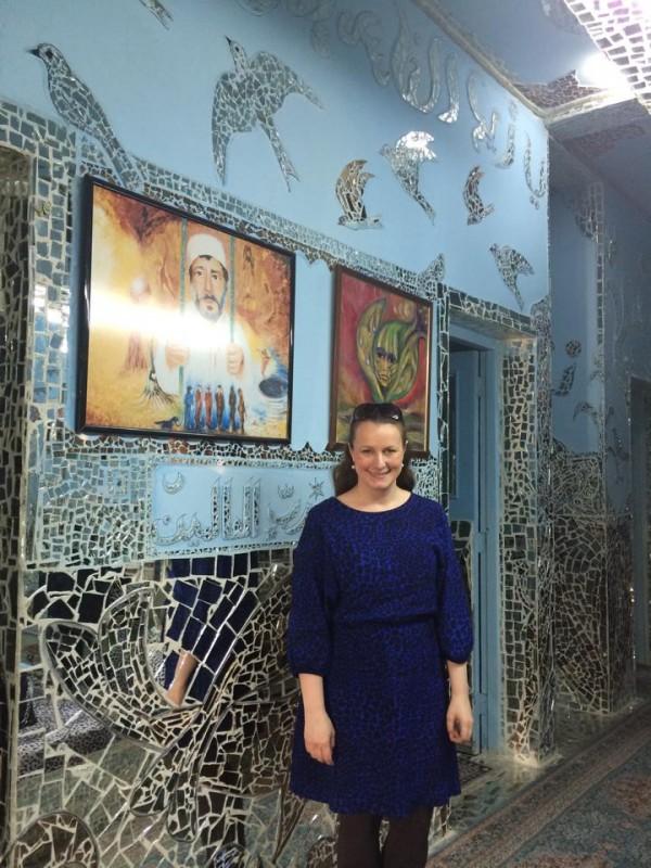 Sofie Sandell in Kuwait