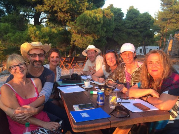 Sofie Sandell writing course Skyros