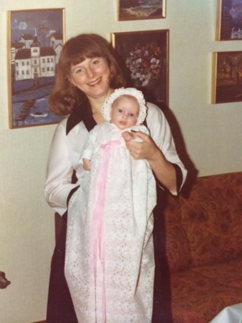 Me and my mum.