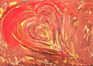 Healing heart - Sofie Sandell art
