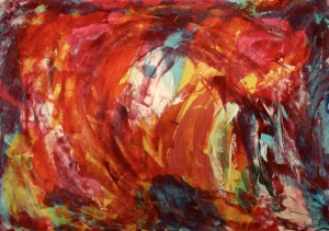 Sofie Sandell's abstract art