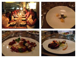 The food we cooked at Aveqia London
