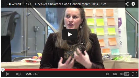 speaker showreel - Sofie Sandell