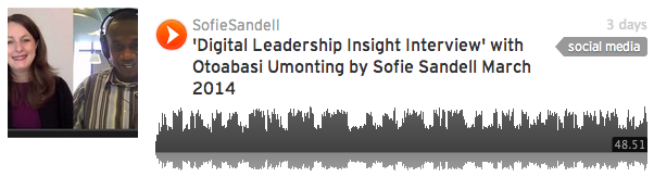 Digital Leadership Insights Interview with Sofie Sandell and Otoabasi Umonting