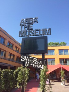 ABBA the museum - outside