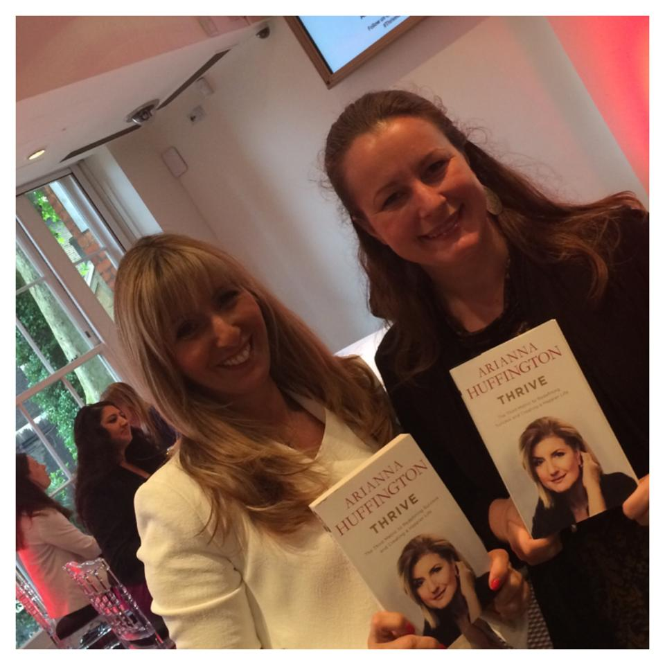 Arianna Huffington at BAFTA in London - Nicci Roscoe and Sofie Sandell