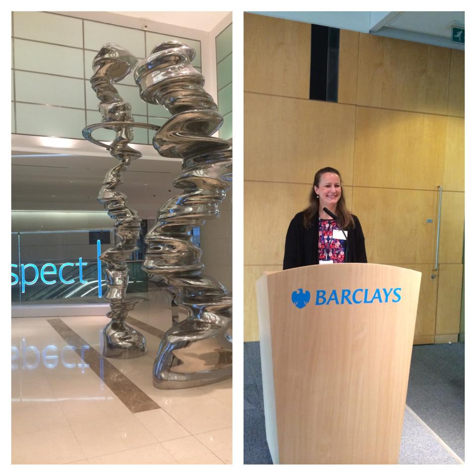 'How the digital revolution is shaping Africa' at Barclays London Sofie Sandell 3