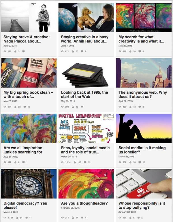 Sofie Sandell's LinkedIn blog posts