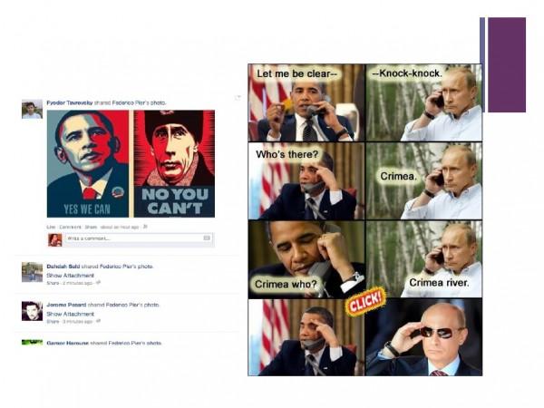 russia social media meme