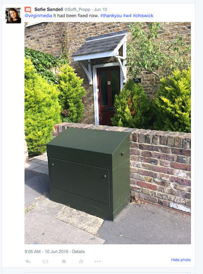 Virgin media green box fixed