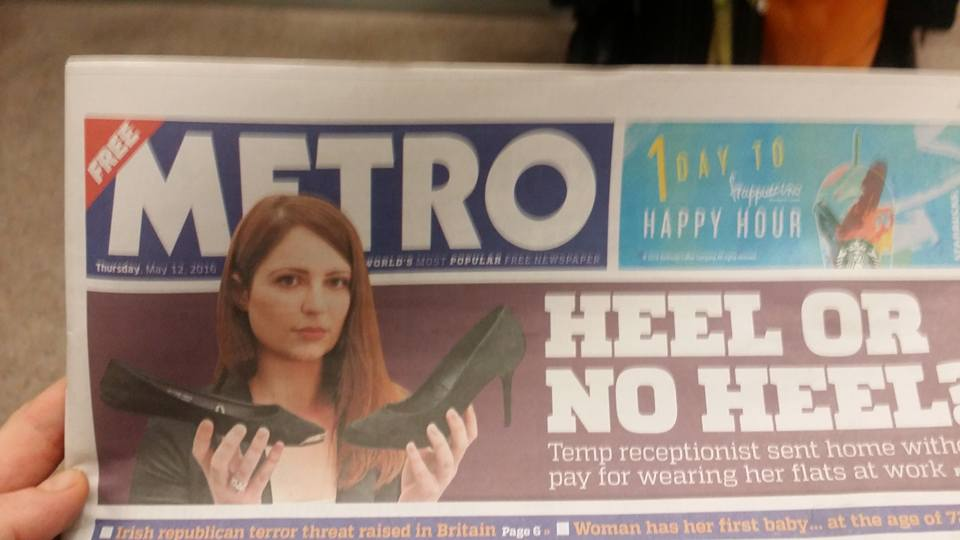 Nicola Metro newspaper